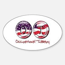 OT Flag Sticker (Oval)
