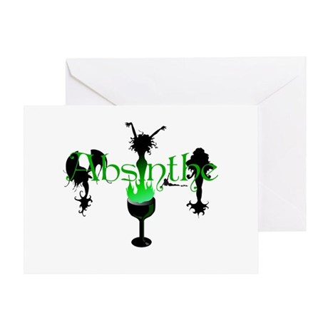 Absinthe Party Greeting Card