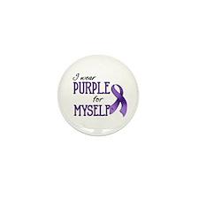 Wear Purple - Myself Mini Button (10 pack)