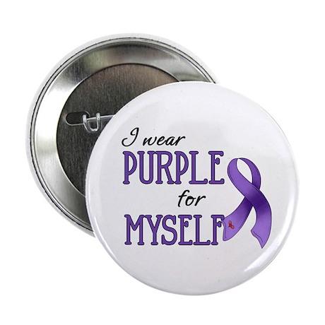 """Wear Purple - Myself 2.25"""" Button (10 pack)"""