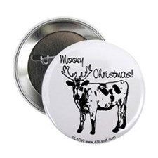 "Mooey Christmas 2.25"" Button"