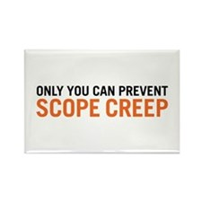 Scope Creep Rectangle Magnet