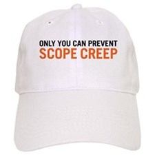 Scope Creep Baseball Baseball Cap