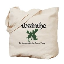 Absinthe Green Fairy Tote Bag