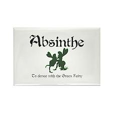Absinthe Green Fairy Rectangle Magnet