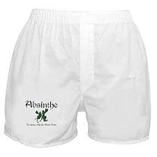 Absinthe Green Fairy Boxer Shorts
