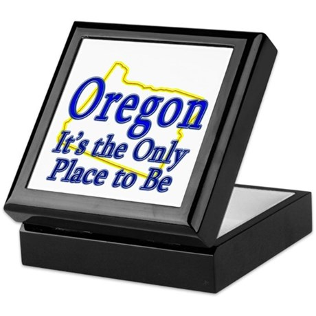 Only Place To Be - Oregon Keepsake Box