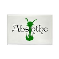 Absinthe Fairy Rectangle Magnet