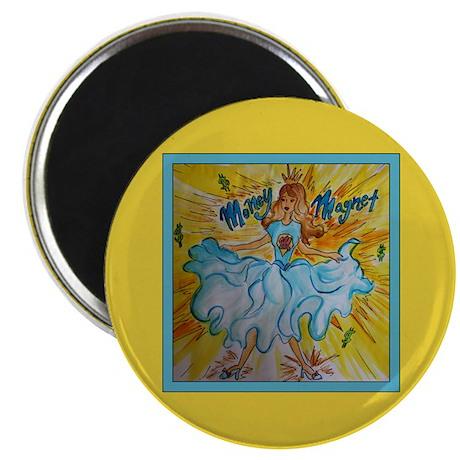 """Money Magnet Goddess 2.25"""" Magnet (100 pack)"""