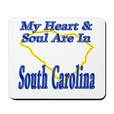 Heart & Soul - South Carolina Mousepad
