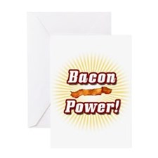 Bacon Power! Greeting Card