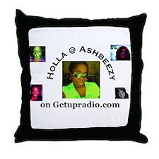 Get Up Radio Gear Throw Pillow