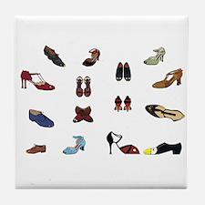 Shoes Tile Coaster