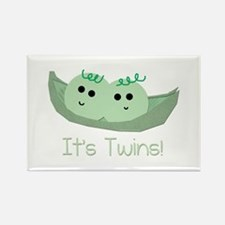 It's TWINS! Rectangle Magnet