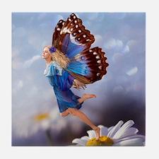 Fairy Butterfly Tile Coaster