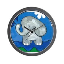 Cute Cartoon jungle Wall Clock