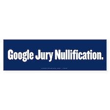 Google Nullification Bumper Sticker