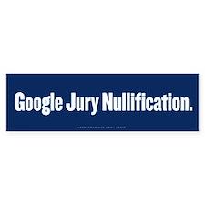 Google Nullification Bumper Bumper Sticker