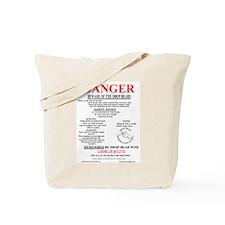 Cool Danger Tote Bag