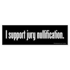 Jury Nullification Bumper Bumper Sticker