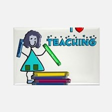 Stick People Occupations Rectangle Magnet