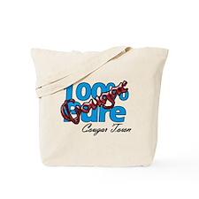 100% Pure Cougar Tote Bag