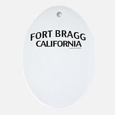 Fort Bragg Ornament (Oval)