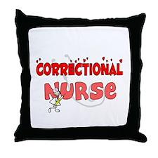 Nurse XX Throw Pillow
