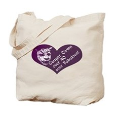 Over 40, Over Fabulous Tote Bag
