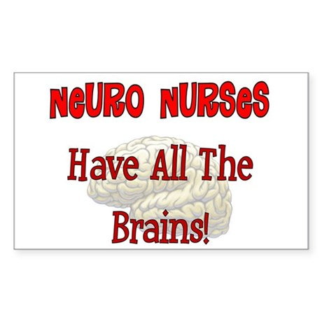 Nurse XX Sticker (Rectangle)