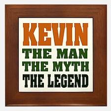 KEVIN - The Legend Framed Tile