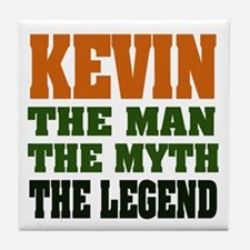 KEVIN - The Legend Tile Coaster