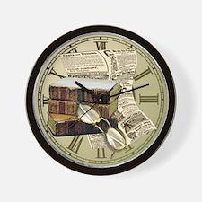 Reading Design Wall Clock