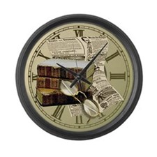 Reading Design Large Wall Clock