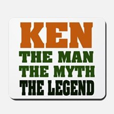 KEN - The Legend Mousepad