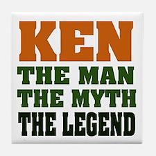 KEN - The Legend Tile Coaster