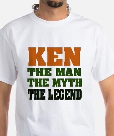 KEN - The Legend White T-Shirt