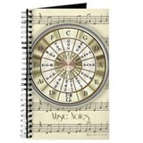Music note Journals & Spiral Notebooks