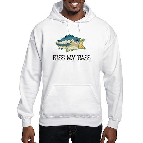 Kiss My Bass Hooded Sweatshirt