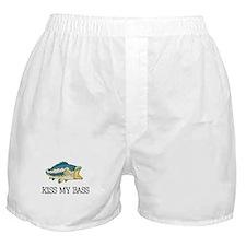 Kiss My Bass Boxer Shorts