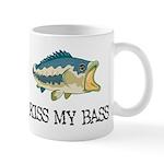 Kiss My Bass Mug