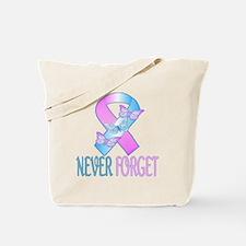Pregnancy & Infant Loss Ribbon Tote Bag