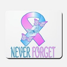 Pregnancy & Infant Loss Ribbon Mousepad