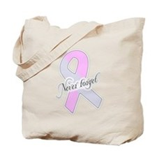 Pregnancy & Infant Loss Ribbon Tote Bag