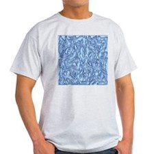 Collage of Women Ash Grey T-Shirt