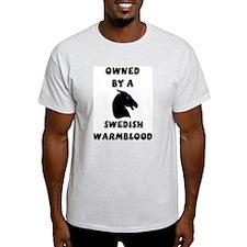 Swedish Warmblood Ash Grey T-Shirt