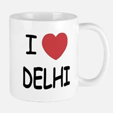 I heart Delhi Mug