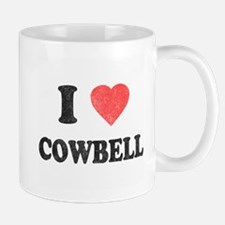 I Love [Heart] Cowbell Mug