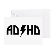 ADHD Rock Greeting Card