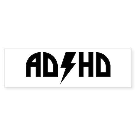 ADHD Rock Sticker (Bumper)